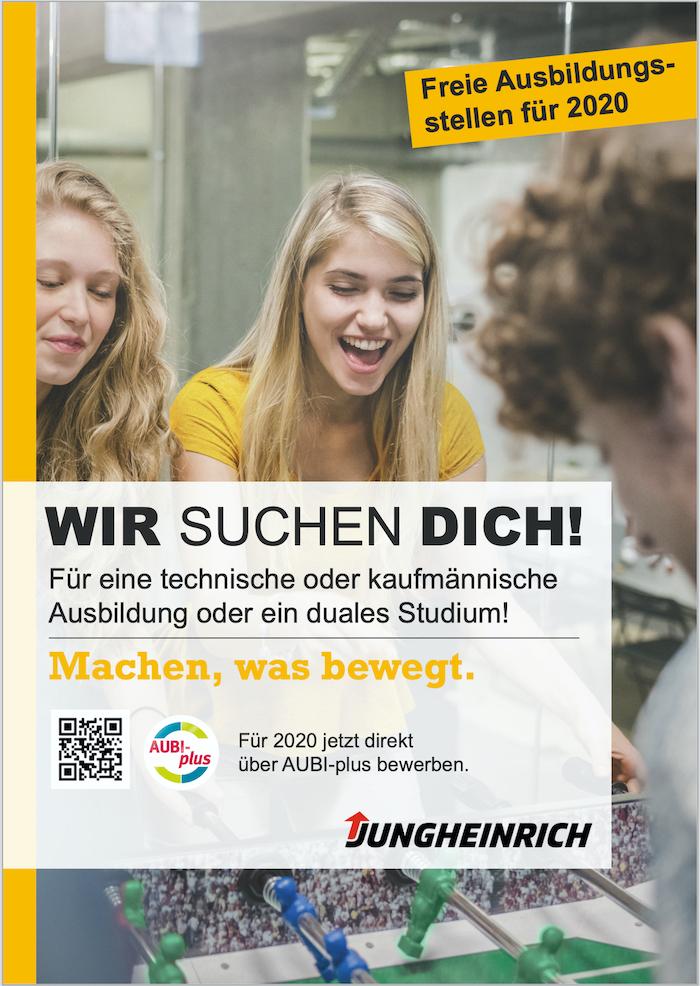 Anzeige Jungheinrich
